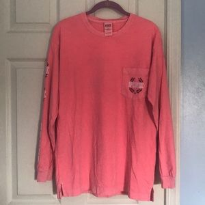 PINK Victoria's Secret size small long sleeve tee